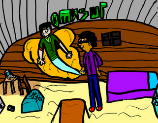 FOP: DenzeltheGenie and Norm the FairyHunter Colr.