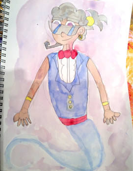 FOP: Norm the Genie In Watercolour