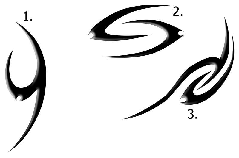 tribal scribble