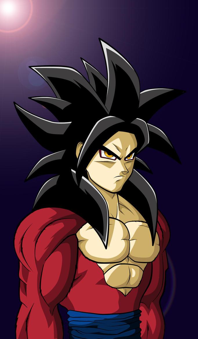 Goku ssj 4 Colour by Hitmanrulzs22Goku Super Saiyan 4 Kamehameha X10
