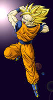 Goku the hero colour