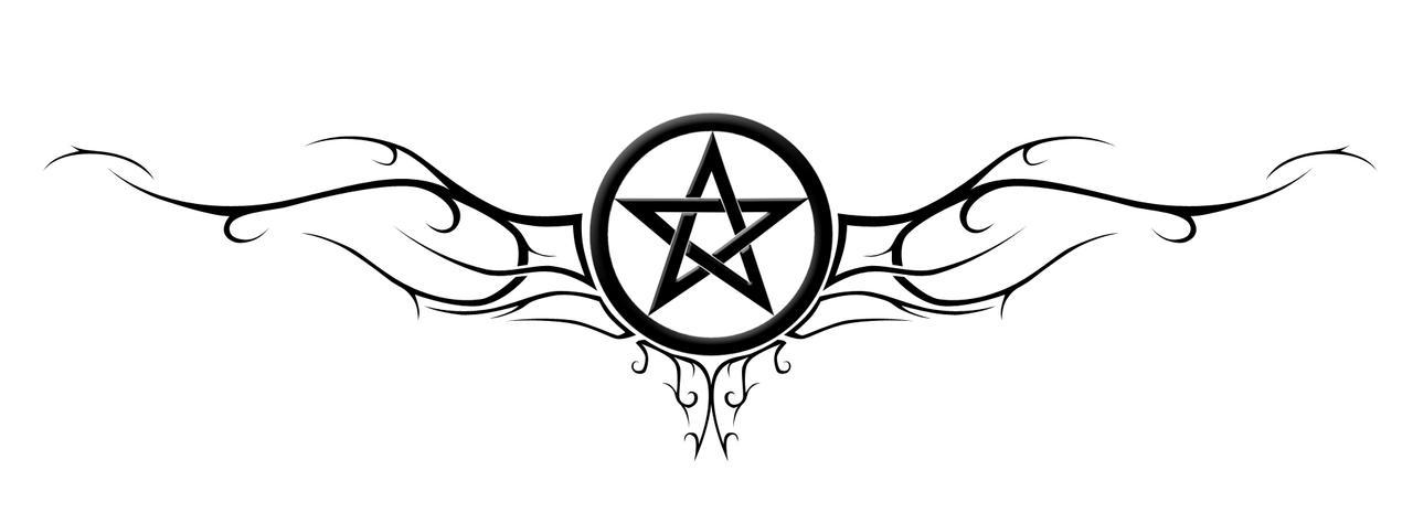 pentagram by hitmanrulzs22 on deviantart. Black Bedroom Furniture Sets. Home Design Ideas