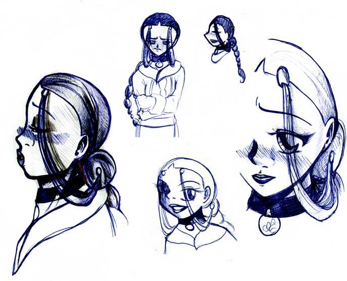 Katara figures by LadyProphet