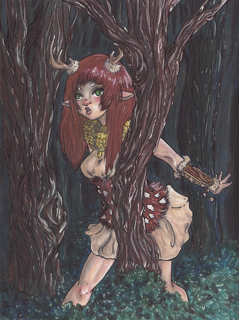 Through the Forest by MoonchildLadyShadow