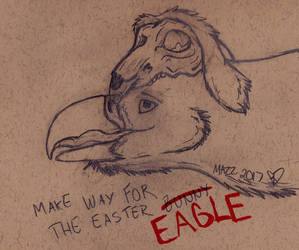 Make way for the easter eagle by TornFeathers