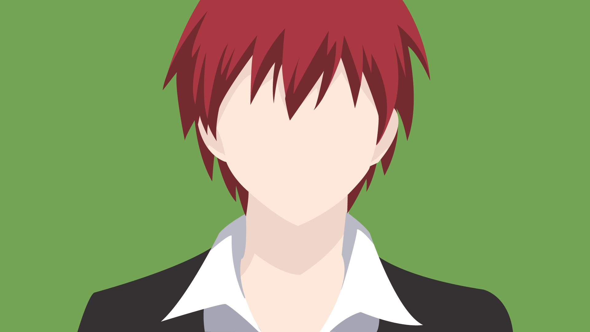 Assassination Classroom Minimalist Wallpaper ~ Karma ansatsu kyoshitsu minimalist by sykotixuk on