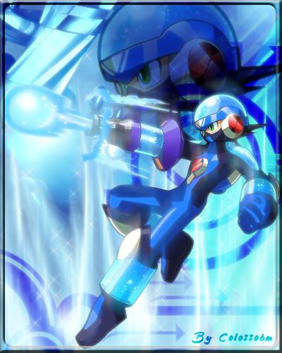 MEGAMAN EXE - Aqua Soul by Colossobm