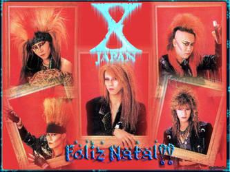 X japan Christmas by Colossobm