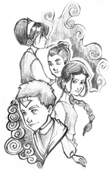 Avatar: S3 now with hair by moderate-mind