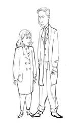 X files: bad wardrobe by moderate-mind