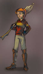 Quidditch Ginny by moderate-mind