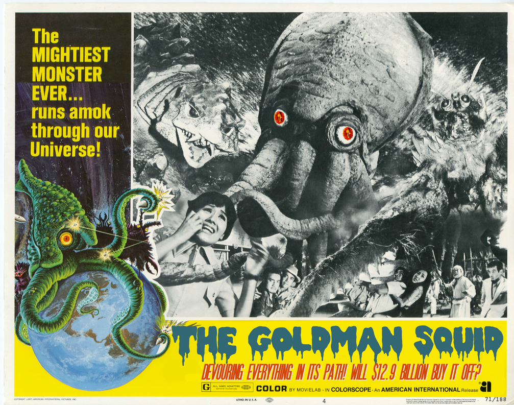 The goldman squid it came from outer space by for Watch it came from outer space