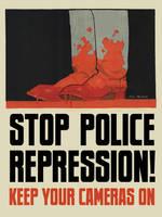 Stop Police Repression by poasterchild