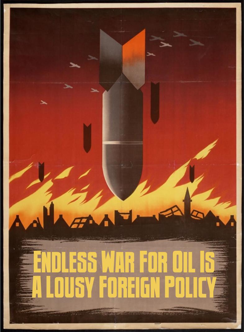 War for Oil by poasterchild
