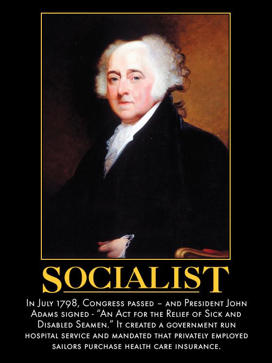 John Adams Was A Socialist by poasterchild