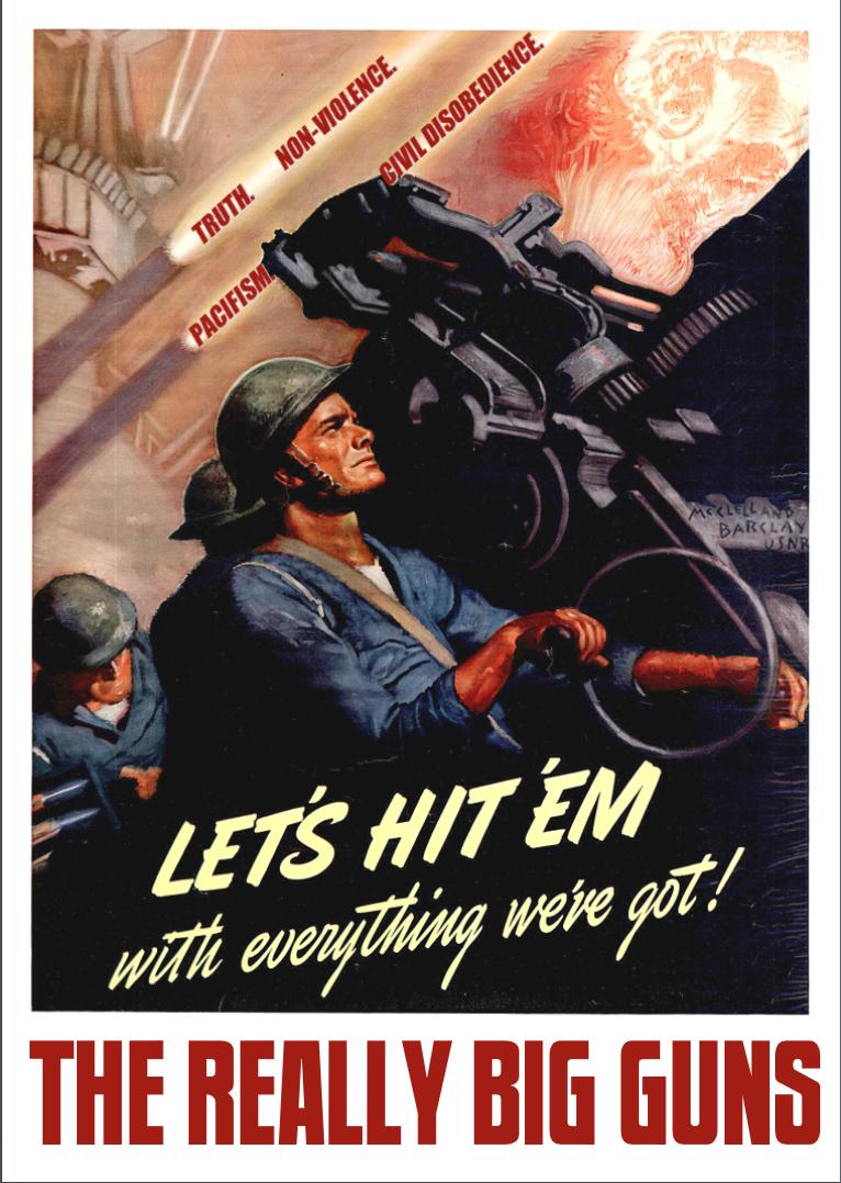 The Really Big Guns by poasterchild
