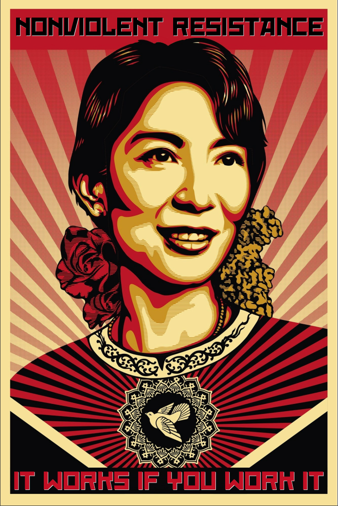 Nonviolent Resistance. It Works. by poasterchild