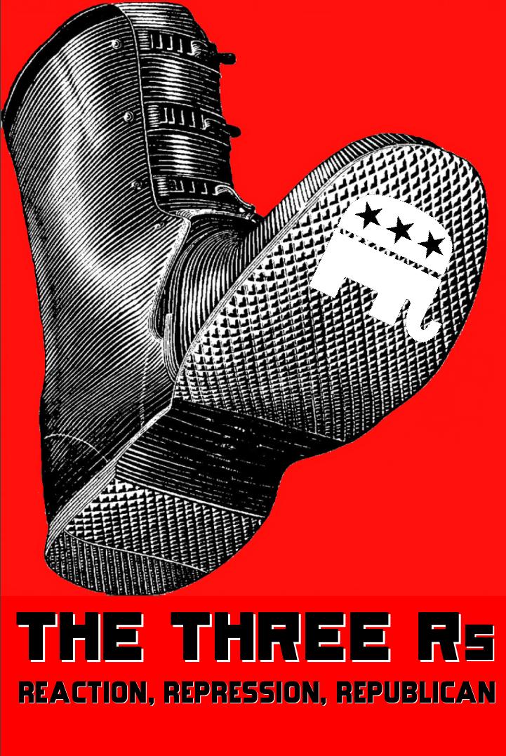 The Three Rs by poasterchild