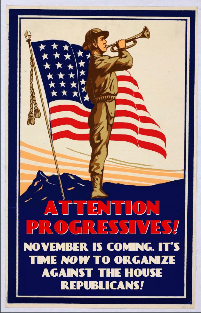 Attention Progressives! by poasterchild