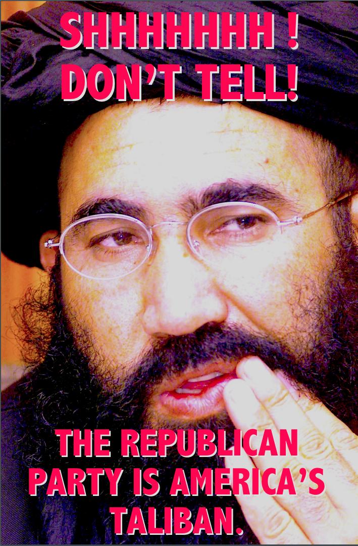 America's Taliban by poasterchild