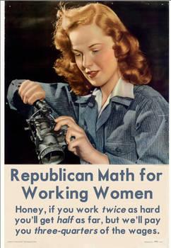 Republican Math for Working Women