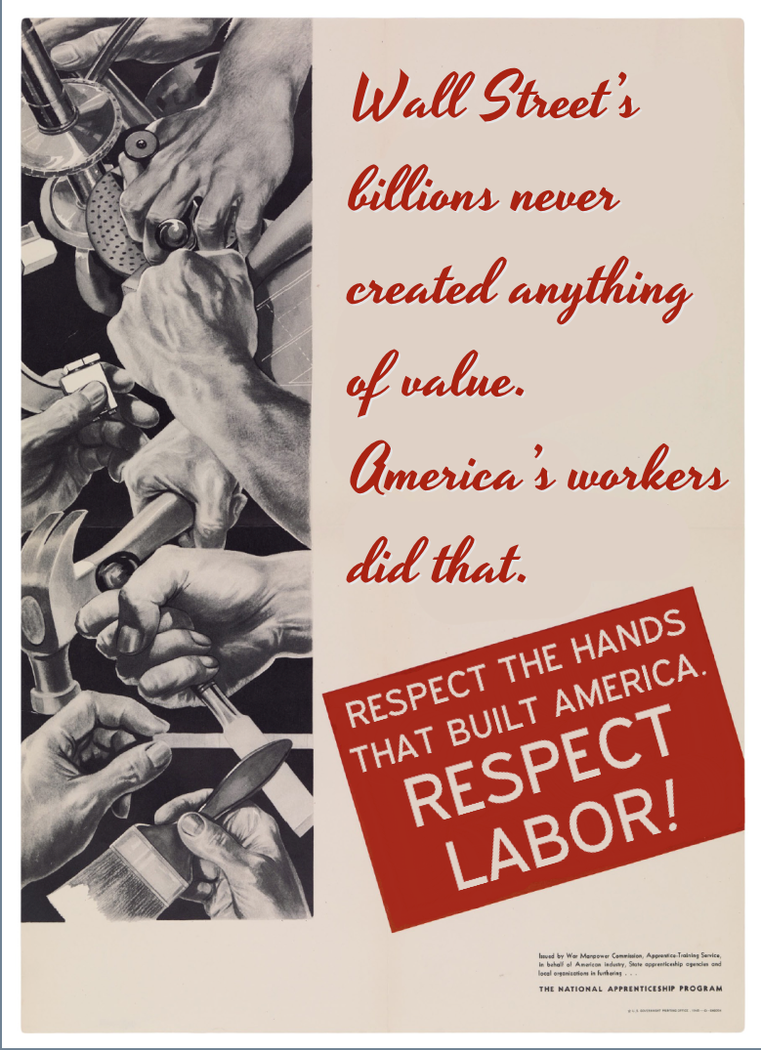 Respect Labor by poasterchild