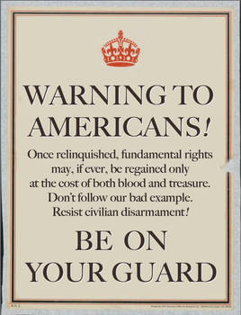 A Warning to Americans