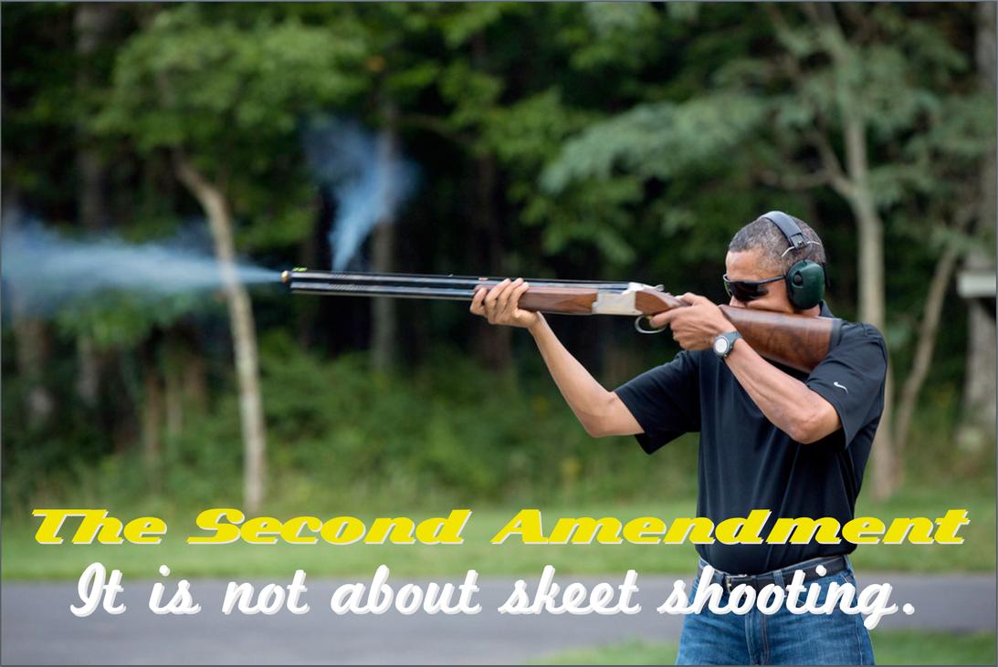 Skeet Shooting Misses The Target by poasterchild