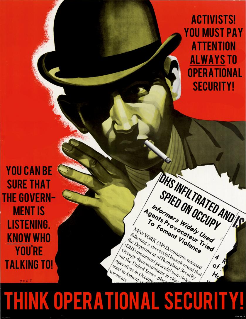 Think Operational Security by poasterchild on DeviantArt