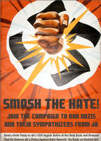 Smash the Hate!  No Nazis on deviantART! by poasterchild