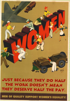 Just Because Women Do Half the Work
