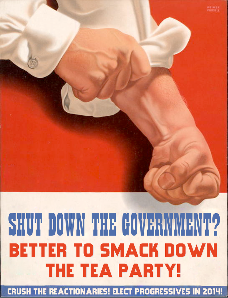 Shut Down the Government? by poasterchild