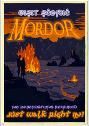 Who Says You Can't Just Walk Into Mordor? by poasterchild
