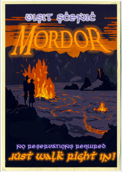 Who Says You Can't Just Walk Into Mordor?