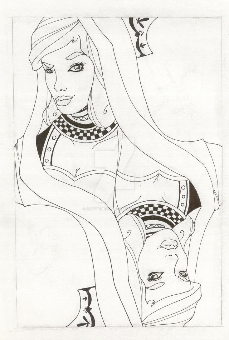 Queen of Hearts WIP by shotgunopera