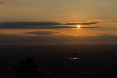 Divided Sunset
