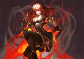 Selesia-san from Re:CREATORS by tollrinsenpai