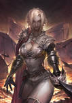 Swordswoman ' v'
