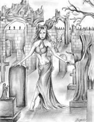 Stroll in the Dark by Dracfan95