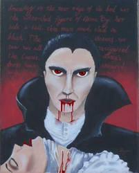 Dracula's kiss by Dracfan95