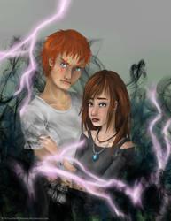 Grey and Lightning by 518ZombiedDreams