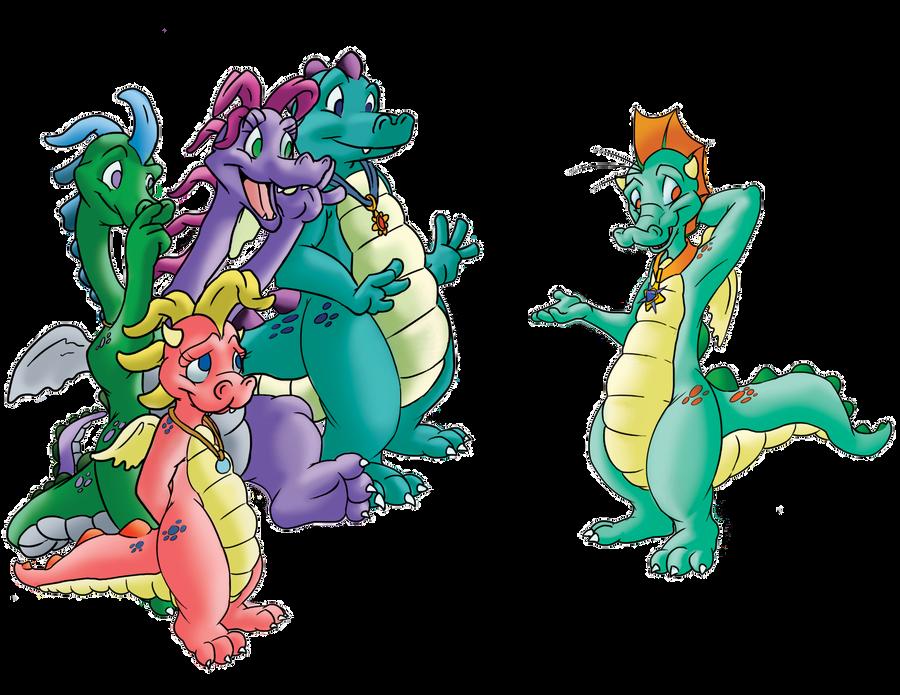 dragon tales videos