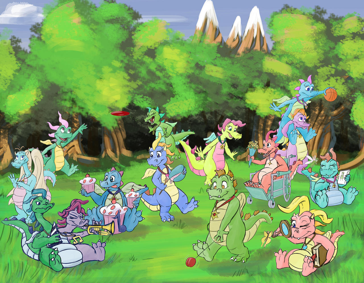 Dragon Tales Wallpaper