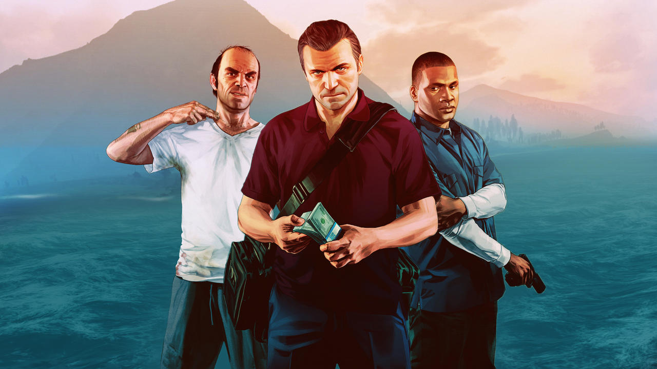 GTA V Wallpaper by eximmice