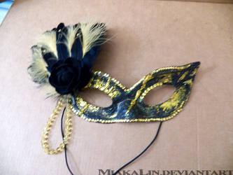 Joeys mask commission by MiakaLin