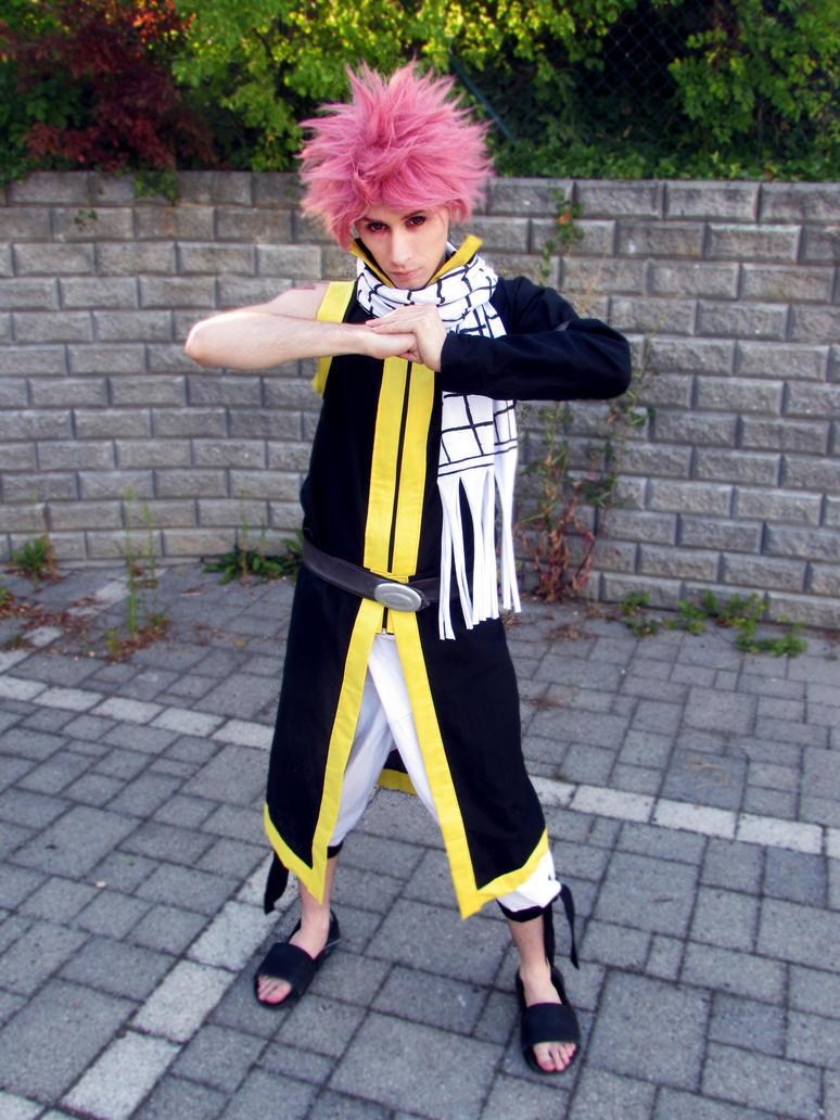 Natsu Dragneel Fairy Tail cosplay by Mezurashi-Cosplay