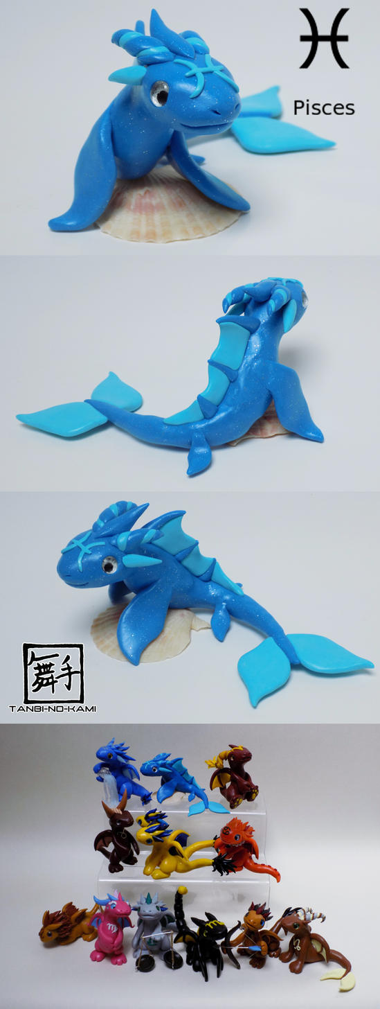 Zodiac Pisces by Tanbi-no-Kami