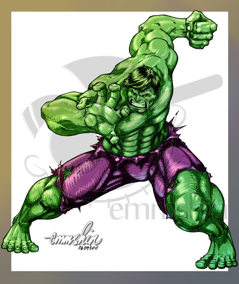 incredible hulk art gallery - photo #38