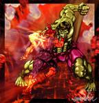 Hulk Vs. Akuma MVC3 Tribute