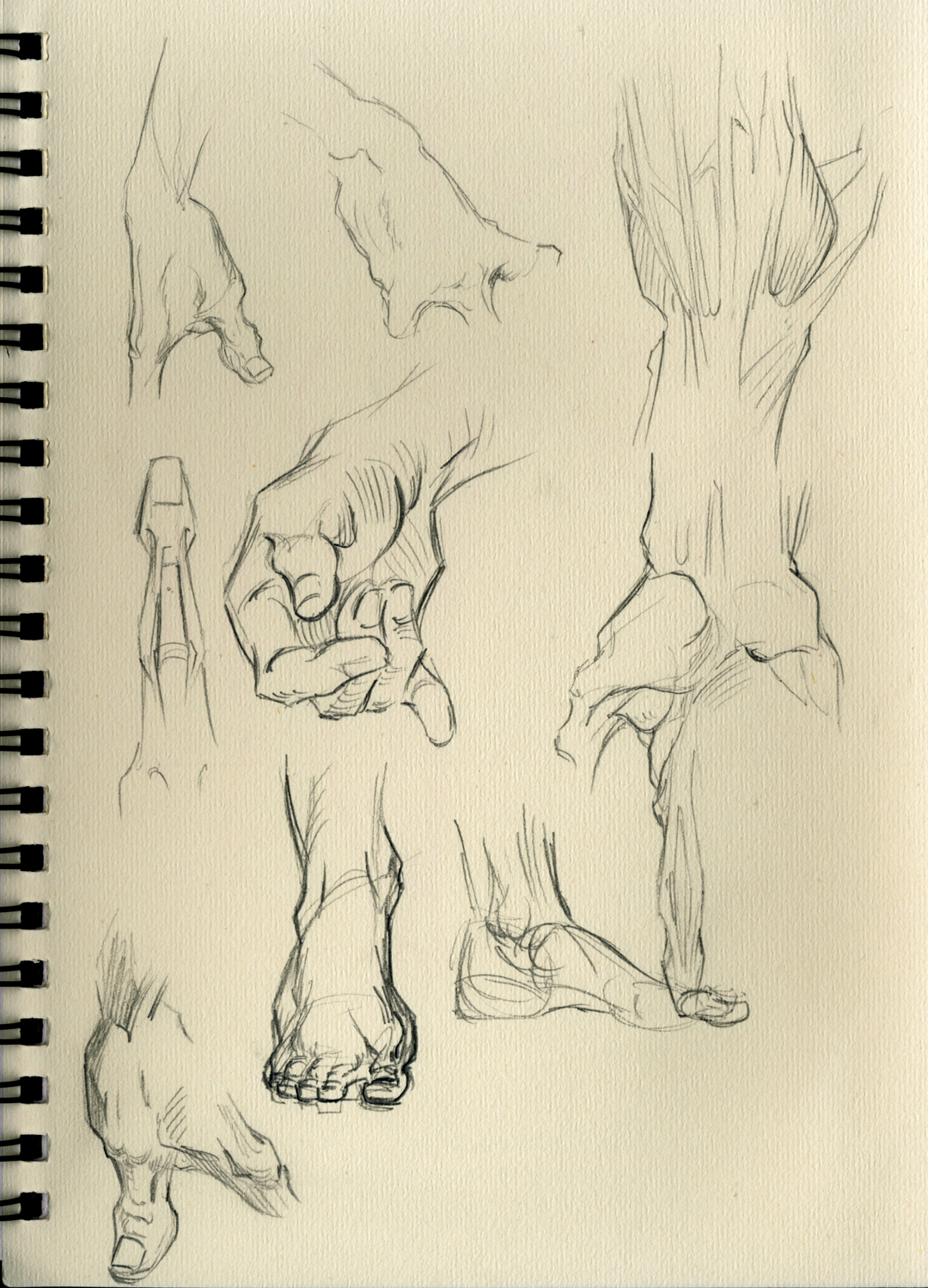 Hands-Feet sketches by emmshin